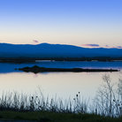 Picture - A tranquil evening at the Sacramento National Wildlife Refuge.