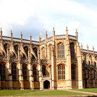Picture - The exterior of St George's Chapel at Windsor Castle.