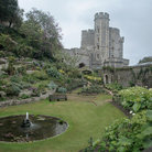 Picture - The lush gardens of Windsor Castle.