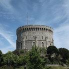 Picture - The round, main tower of Windsor Castl.e.