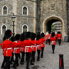 Picture - Changing of the Guards at Windsor Castle.