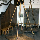 Picture - Equipment at the Witches Weigh House in Oudewater.