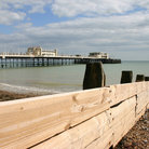 Picture - The beach at Worthing.