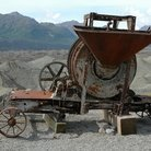 Picture - Abandoned mining equipment at Kennecott.