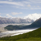 Picture - Mount Blackburn,the Root and Kennecott Glacier, Wrangell.