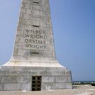 Picture - Monument at the Wright Brothers National Memorial, North Carolina.