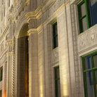 Picture - Details of Wrigley Building in Chicago.