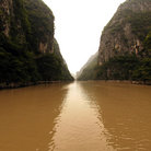 Picture - Gorges along Yangtze River.