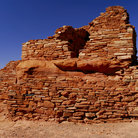 Picture - Lomaki Ruin, Wupatki National Monument.