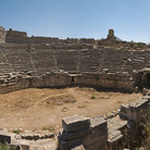 Picture - The Roman theatre at Xanthos.