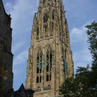 Picture - Harkness Tower (1920) at Yale University in New Haven.