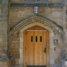 Picture - Door at Yale University, New Haven.