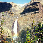 Picture - A view of Takakkaw Falls in Yoho National Park.
