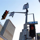 Picture - Corner of Yonge Street and Bloor Street in Toronto.