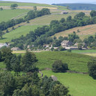 Picture - The Hamlet of Appletreewick in the Yorkshire Dales National Park.