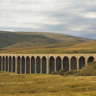 Picture - Viaduct seen in the Yorkshire Dales National Park.
