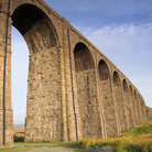 Picture - Old viaduct in Yorkshire Dales National Park.