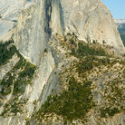 Picture - Half Dome Rock in Yosemite National Park.
