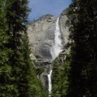 Picture - Waterfall in Yosemite National Park.