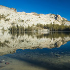 Picture - Alpine Lake in Yosemite National Park.