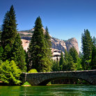 Picture - Merced River, Yosemite National Park.