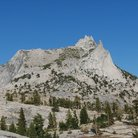Picture - Cathedral Peak in Tuolumne Meadows.
