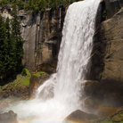 Picture - Mist Trail, Vernal Fall.