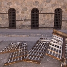 Picture - Prison gates at the Yuma Territorial Prison.