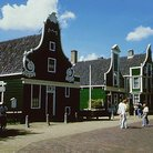 Picture - The Zaanse Schans open air museum.