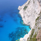 Picture - View from Kampi of the coast of Zakynthos.