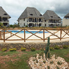 Picture - A holiday resort on the Island of Zanzibar.