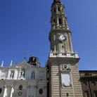 Picture - Tower of La Seo Cathedral in Zaragoza.