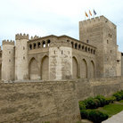 Picture - View of the Palace of La Aljaferia in Zaragoza, Aragon.