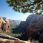 Picture - Angel's Landing in Zion National Park.