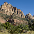 Picture - The Watchman in Zion National Park.