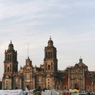 Picture - Zocalo in Mexico City.