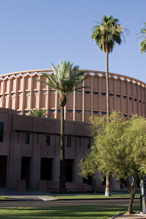 Picture - University Football Stadium at Arizona State University in Tempe.