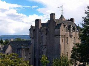 Picture - Exterior of Crathes Castle near Banchory.