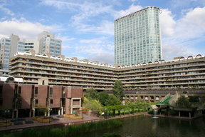 Picture - The Barbican Centre in London.