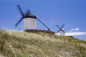 Picture - Old windmilss near Consuegra.