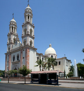 Picture - The cathedral in Culiacán.