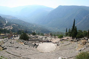 Picture - Mountains around Delphi (Delfi).