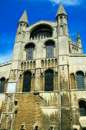 Picture - The exterior of the Ely Cathedral.