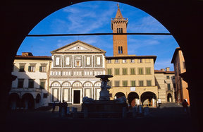 Picture - Square of the Collegiata in Empoli.
