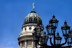 Picture - One of the Gendarmenmarkt doms Berlin.