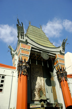 Picture - Former Grauman's now Mann's Chinese Theater in Hollywood.