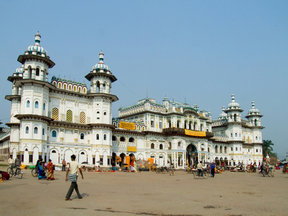 Picture - Janaki Temple in Janakpur.