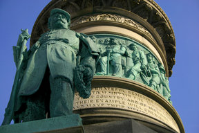 Picture - Civil War Monument (1884) in Lafayette Square, Buffalo.