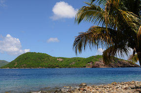 Picture - View across to Iles des Saintes in Guadeloupe.