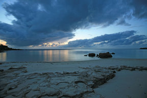 Picture - Sunset over Lizard Island.